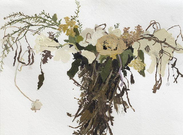 Dried Flower Painting