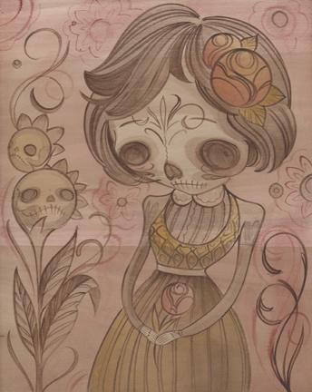 Dia De Los Muertos 2 (sold)