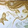 mural for Kaze Gallery