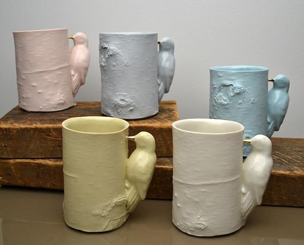BIRD BIRCH CUPS