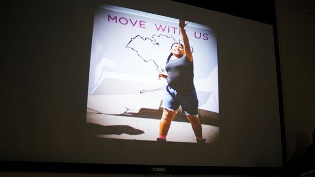 MOVE WITH US - Opening Reception and Video Premiere