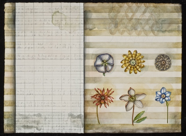botanical Notebook Page #27