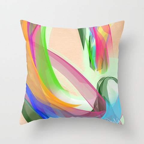 """C is for Colour"" Pillow"