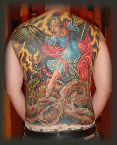 Michael Back piece