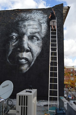 Mandela (in progress) Brownsville, Brooklyn, NY
