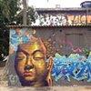 Buddha in a favela Sao Paulo, Brazil