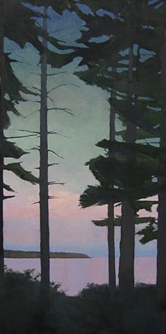 Baker's Island,  Islesford, Little Cranberry Island, dusk
