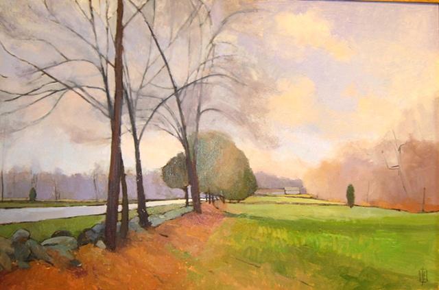 Jacob's Lane Bare Trees