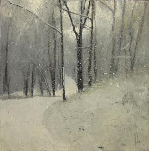 Snowy Road, Marshfield Hills, MA