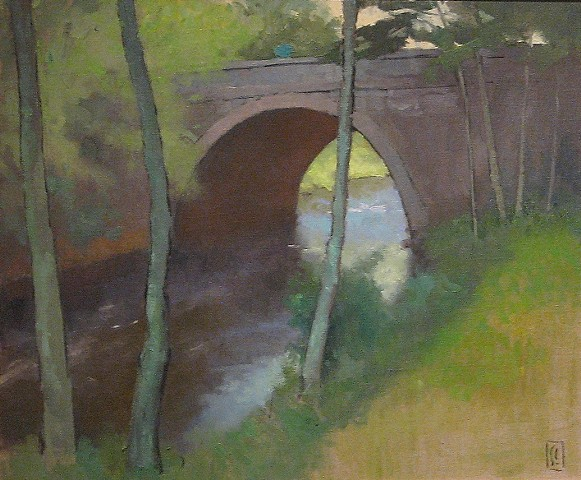 Washington Street Bridge, North River, Hanover, MA