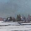 Ridge in the Snow