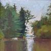 Brook on Squam Lake