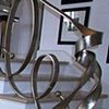 Stair railing for a private residence in  Santa Monica Ca.