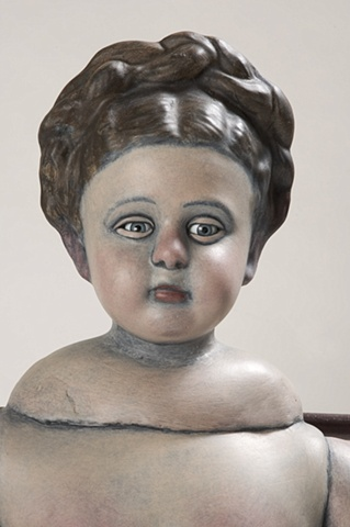 Seated Girl (Detail)