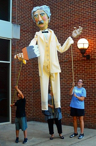Mark Twain Processional Puppet
