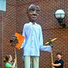 James Baldwin Processional Puppet