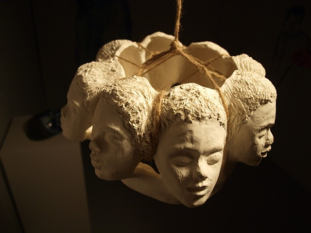 #decrown (Dem Blues) By Interdisciplinary Artist Aisha Tandiwe Bell.