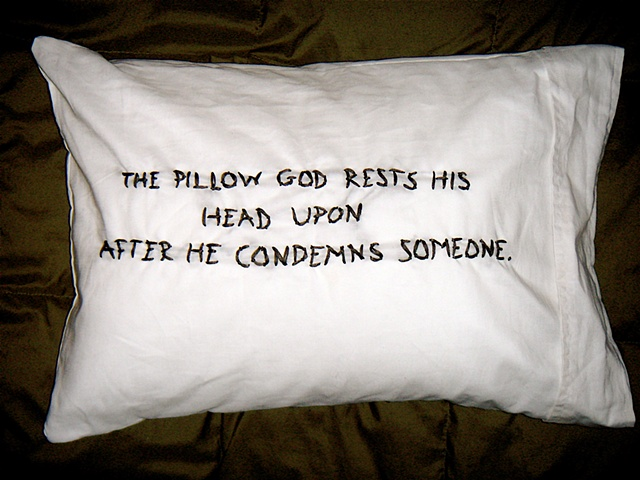 condemnation pillow