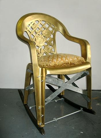 DIY Eames rocking chair