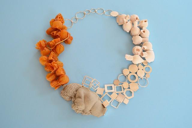 Necklace, Silver, Concrete, Willendorf Venus, Myrrh
