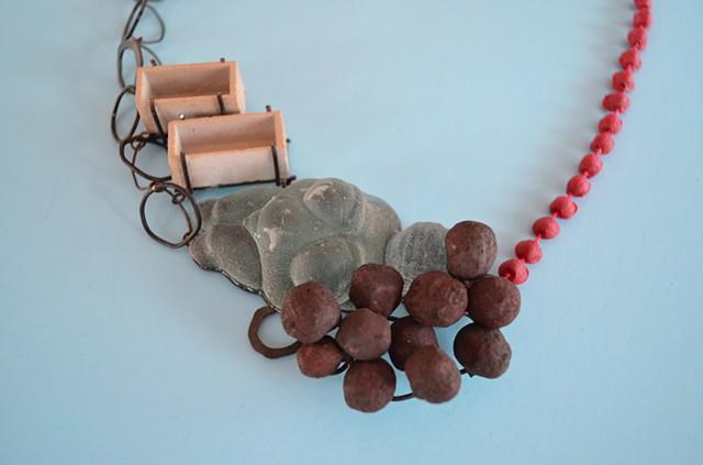 necklace, Concrete, Willendorf Venus, Steel