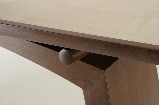 console table- sycamore, walnut