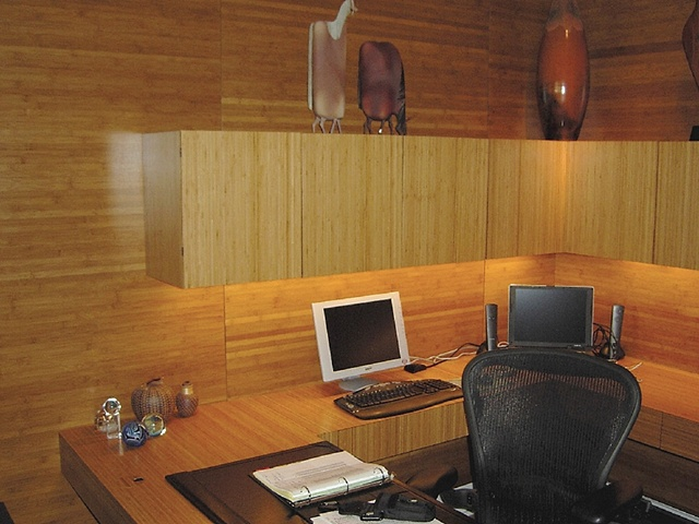 home office - bamboo