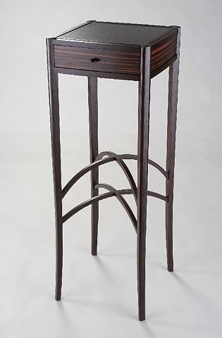 wine table - wenge, ebony