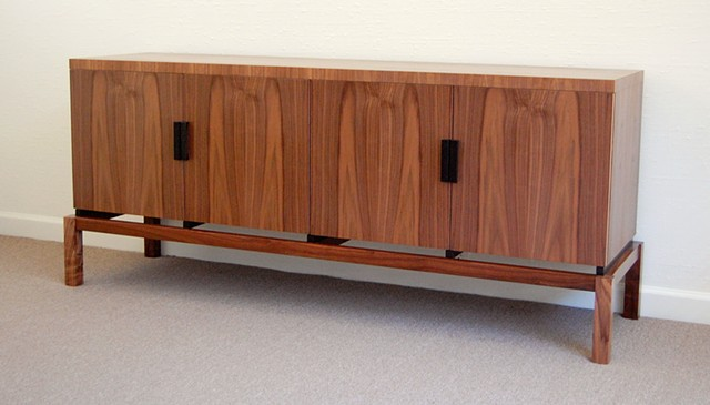 buffet - walnut, ebonized walnut