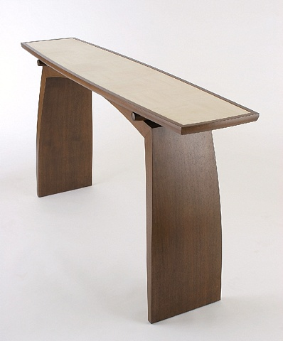 console table - sycamore, walnut