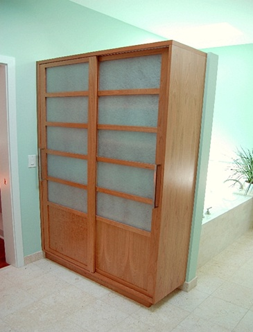 linen press - cherry, acrylic