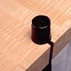 hall table - figured maple, ebonized oak