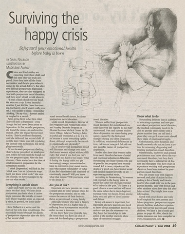 Surviving the happy crisis