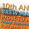Cystic Fibrosis Foundation Brew Madness Event Poster