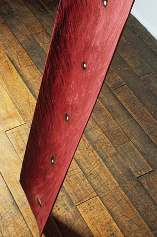 Red Stretcher, 1995 (detail)