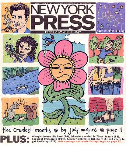 New York Press Cover