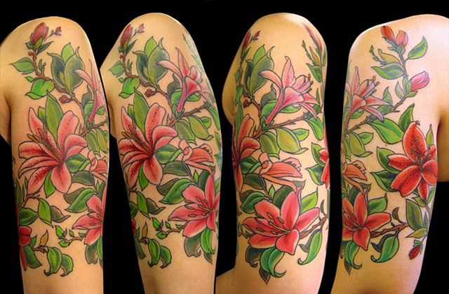lily half sleeve
