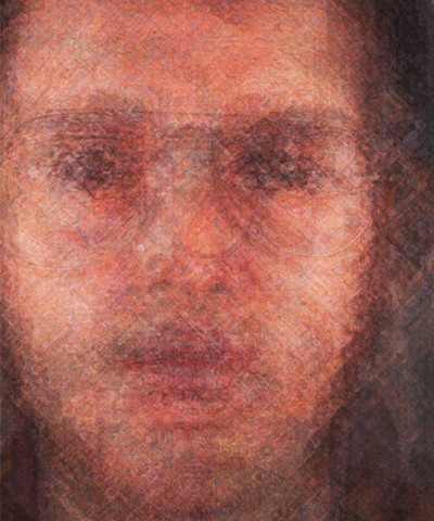 Chuck Close Portrait