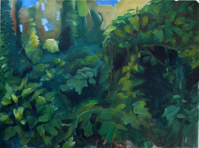 Kudzu Hillside ( Study for Front Porch Farmer)