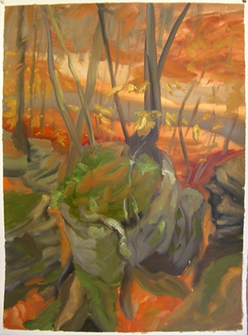 study for Above the Campground Road