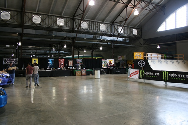 Musink Dallas, TX (Rogue Booth)