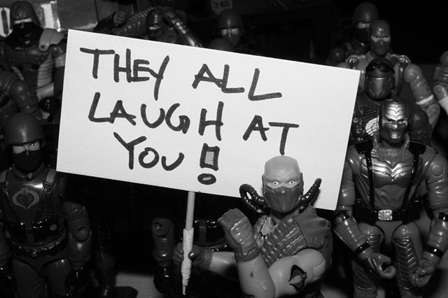 They All Laugh At You !