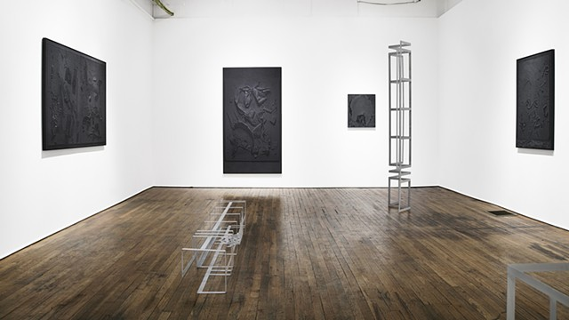 Installation View: Mr. In-Between William Busta Gallery, Cleveland, OH