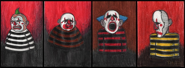 Mini Series of sorrowful Clowns