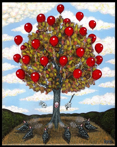Balloon Tree & The Black Feather Choir