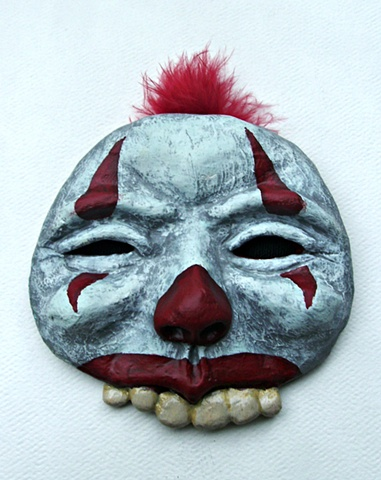 Clown, Sculpture, Clay, Sculpy