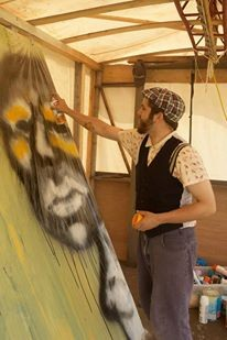 Pascal Leo Cormier, Live Painting, Messtival, TBA Collective