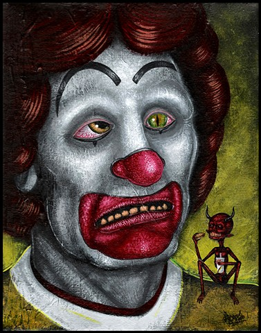 Clown, Ronald, McDonald, Demon, Possession