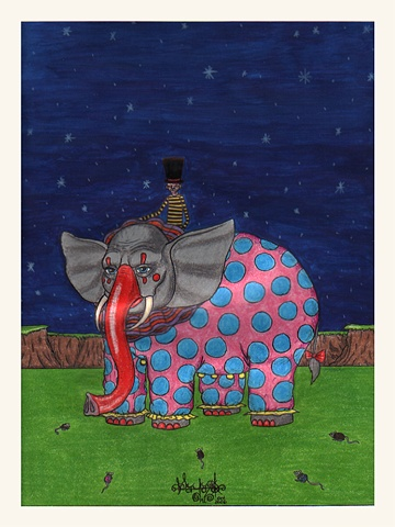Elephant Clown