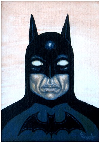 Art, Batman, DC Comics, Painting
